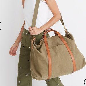NWT Madewell essential overnight weekender bag